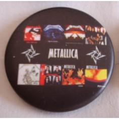 Badge Metallica - Albums