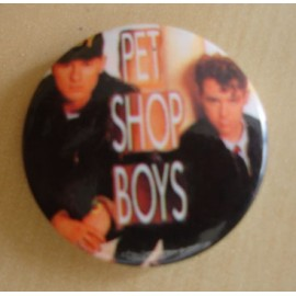 Badge Pet Shop Boys