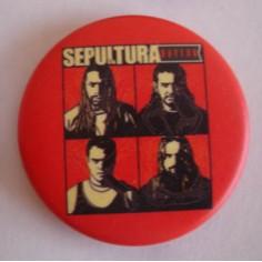 Badge Sepultura - Nation
