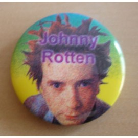 Badge Sex Pistols - Johnny Rotten
