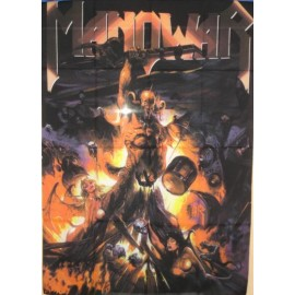 Flag Manowar - Hell on stage