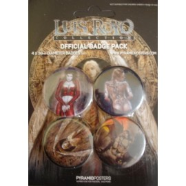 4 Badges kit Luis Royo
