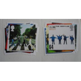 30 stamps Beatles - Abbey Rd/Help