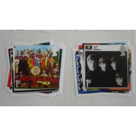 30 stamps Beatles - Sgt Pepper/Fab four
