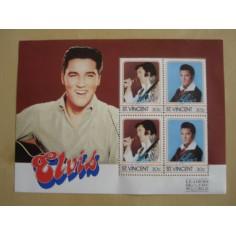 4 stamps Elvis