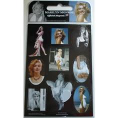 9 magnets Marilyn Monroe
