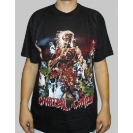 T-shirt Cannibal Corpse - Eaten back to life