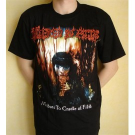 T-shirt Cradle of Filth - Covered in Filth (A tribute to C.o.F.)