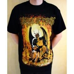 T-shirt Cradle of Filth - Stay behind me Satan