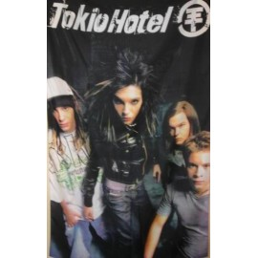 Flag Tokio Hotel black