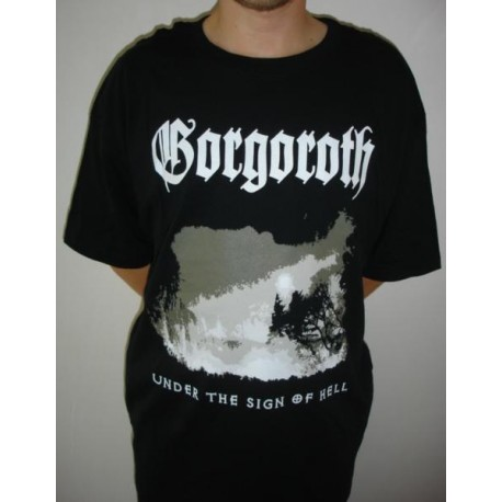T-shirt Gorgoroth - Under the sign of Hell