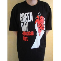 T-shirt Green Day - American Idiot