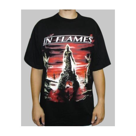 T-shirt In Flames - Colony