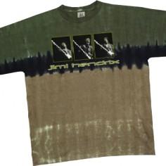 T-shirt Jimi Hendrix [tye dye Liquid Blue]
