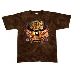T-shirt Lynyrd Skynyrd [tye dye Liquid Blue]