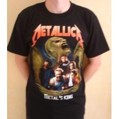 T-shirt Metallica - Metal's king