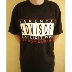 T-shirt Parental Advisory