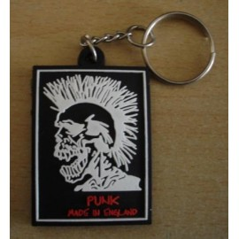 Keyring Exploited punk made in England
