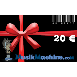 Gift card -20€ €