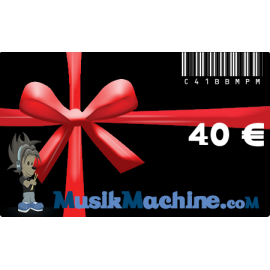 Gift card -40€ €