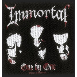 Ecusson Immortal - One by one