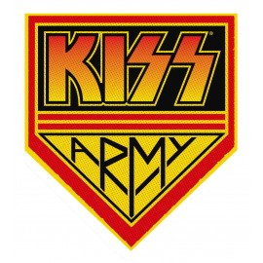 Ecusson Kiss Army