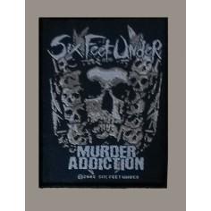 Ecusson Six Feet Under - Murder Addiction