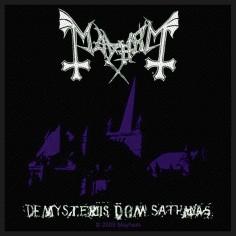 Ecusson Mayhem - De Mysteriis Dom Sathanas