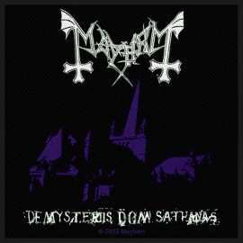 Patch Mayhem - De Mysteriis Dom Sathanas