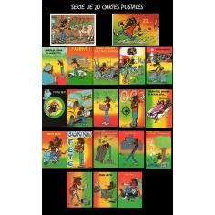 Postcard Reggae - Jimmy (serie of 20 samples)