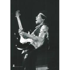 Flag Jimi Hendrix - BW Guitar