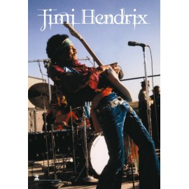 Flag Jimi Hendrix on stage