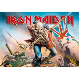 Flag Iron Maiden - The Trooper