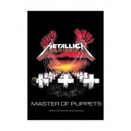 Flag Metallica - Master of Puppets