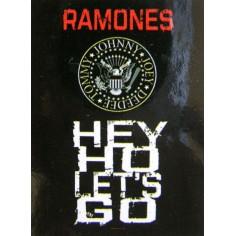 Drapeau Ramones - Hey ho Let's go