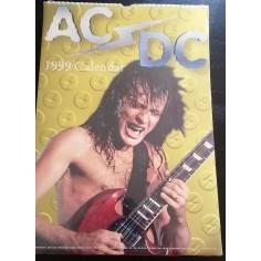 AC/DC Collectable Calendar 1999