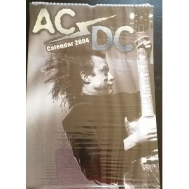 AC/DC Collectable Calendar 2004