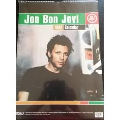Calendrier vintage Bon Jovi 1998