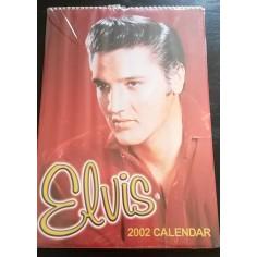 Calendrier vintage Elvis Presley 2002
