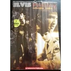 Calendrier vintage Elvis Presley 2006