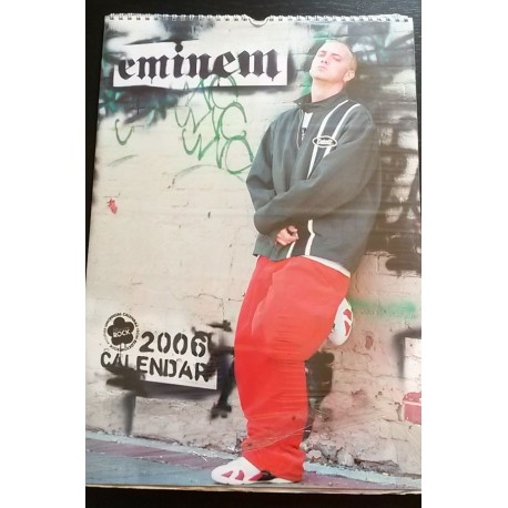 Eminem Collectable Calendar 2006