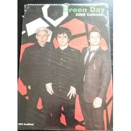 Calendrier vintage Green Day 2006