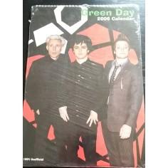 Green Day Collectable Calendar 2006