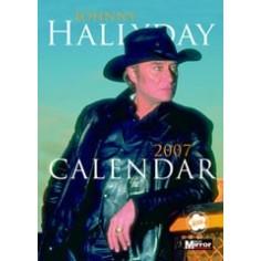 Calendrier vintage Johnny Hallyday 2007