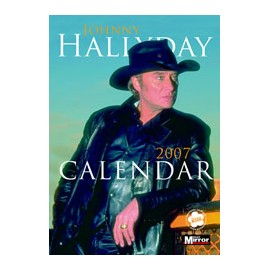 Johnny Hallyday Collectable Calendar 2007