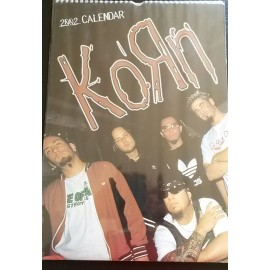 KoRn Collectable Calendar 2002