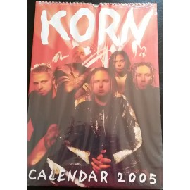 KoRn Collectable Calendar 2005