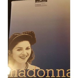 Madonna Collectable Calendar 1994