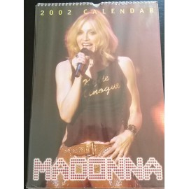 Madonna Collectable Calendar 2002
