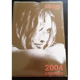 Madonna Collectable Calendar 2004